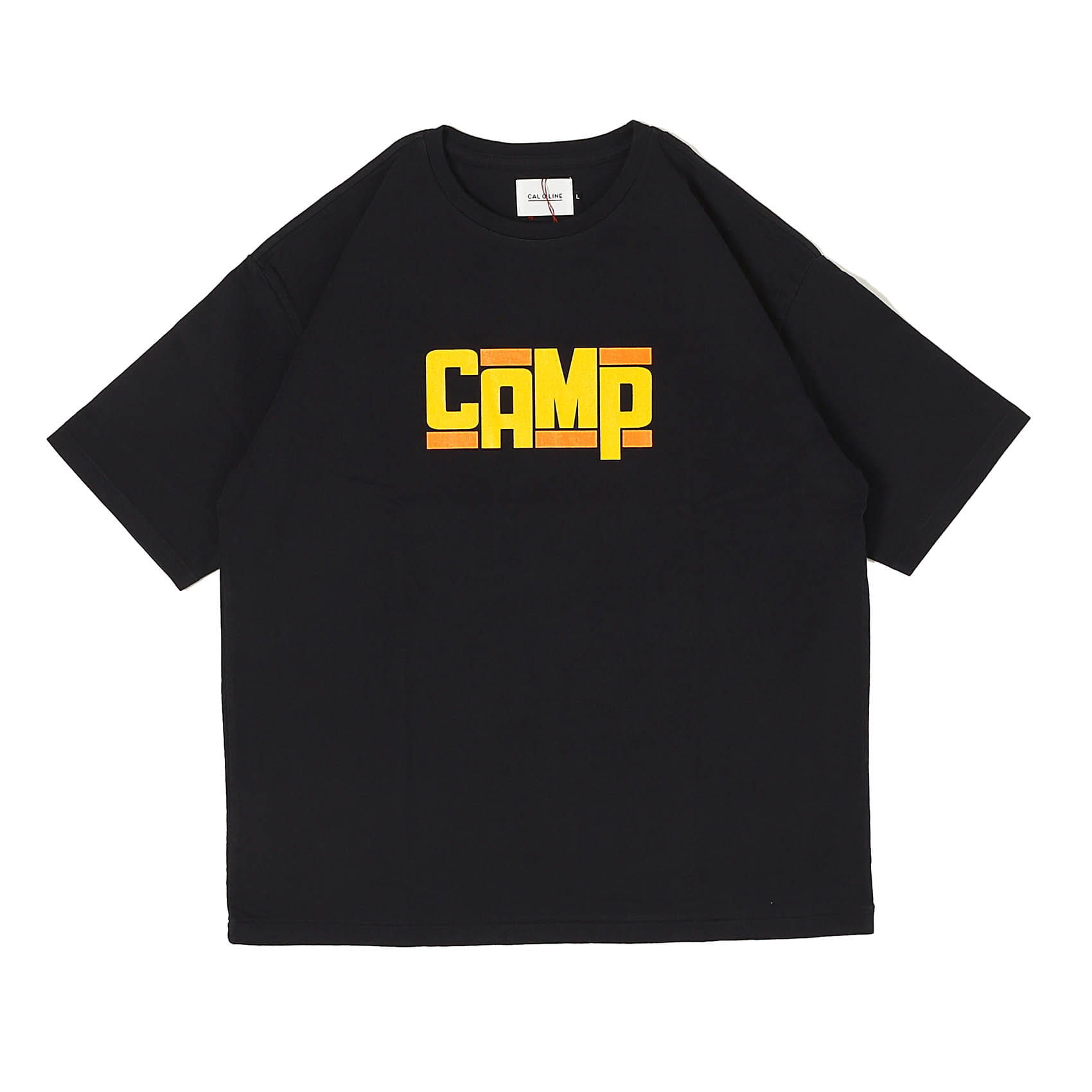 CAMP T-SHIRT - BLACK