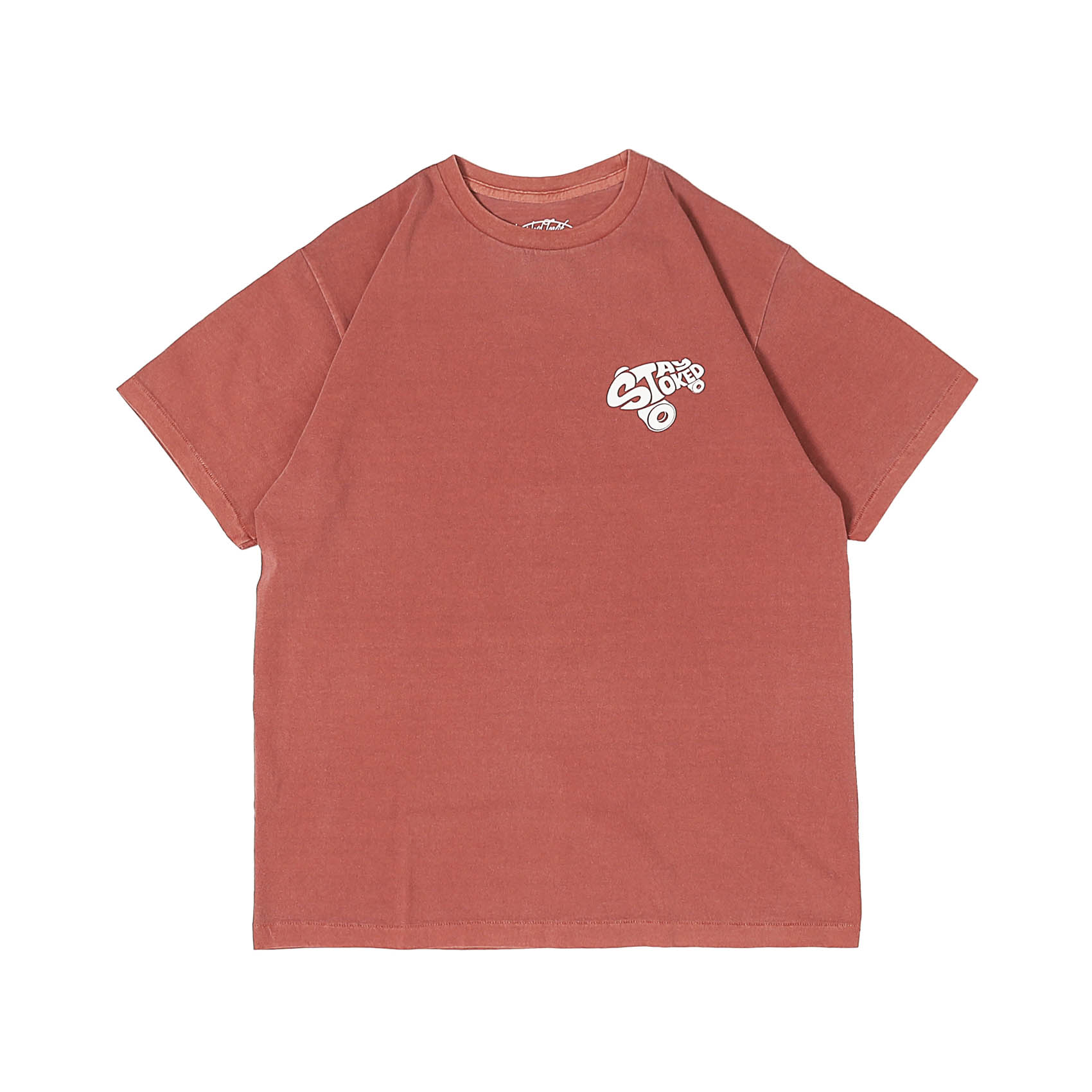 STAY STOKED TEE - RED