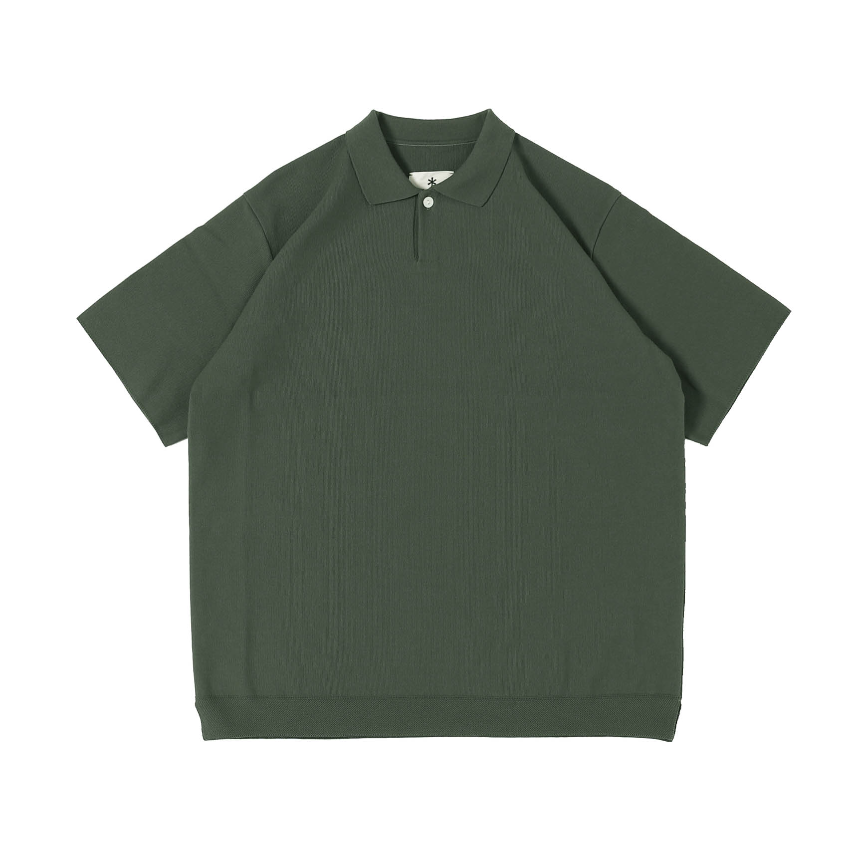 CO/PE DRY POLO SHIRT - KHAKI