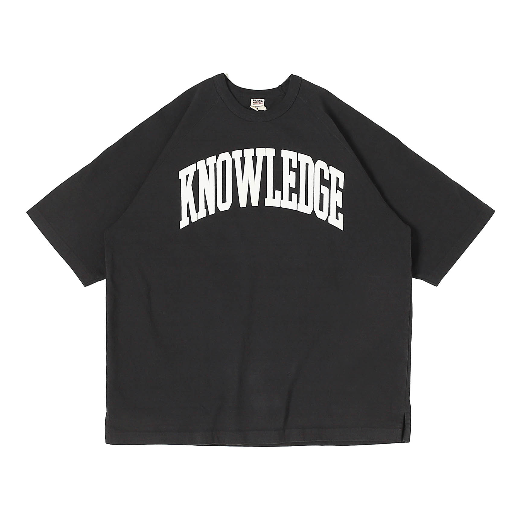 S/S PRINTED TEE - KNOWLEDGE BLACK